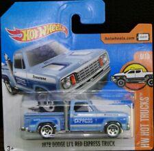 Hot wheels 1978 Dodge li'l red express truck HW Hot trucks 9/10 2017 131/365 DVB