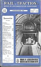 RAIL et TRACTION n° 44   septembre - octobre 1956  -  SNCB