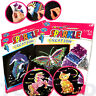 SPARKLE CREATION SET SEQUIN PIN ART GIRLS CRAFT GIFT TOY FAVOR PARTY BAG FILLER
