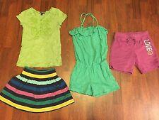 Girls Gap Kids Size Small S 6-7 T-Shirt Tops Romper Shorts Skirt Lot