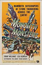 Monolith Monsters 1957 One Sheet Graded (6.5) by MP Grading  F-  folded  27 x 41