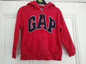 3-4 yrs: Baby GAP red zip-thru hoodie: Good condition: Combine post
