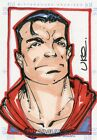 2007 RITTENHOUSE DC LEGACY SUPERMAN SKETCH BY UKO SMITH