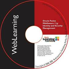 Oracle Fusion middleware 11g: Identity Management Self-Study Guide de formation