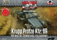 KRUPP PROTZE KFZ 69 ARTILLERY TRACTOR (WEHRMACHT MKGS)#51 1/72 FIRST TO FIGHT