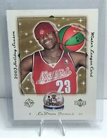 2003 Upper Deck Holiday Season Winter League LeBron James 5X7 Card RC # LB-NPL03