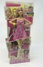 Light Up Heart Barbie Doll Blonde Blue Eyes New