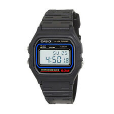 Reloj Casio Original Retro W-59-1V Digital Negro Unisex