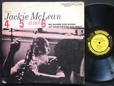 JACKIE MCLEAN 4, 5 And 6 LP PRESTIGE 7048 Hank Mobley Donald Byrd Mal Waldron