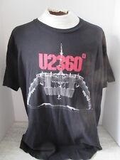 2011 Us 360 Black Tour T-Shirt Size 2Xl