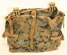 USMC-Marine-MarPat-RADIO-UTILITY-POUCH-Gen-2-Tan-Buckles-for-ILBE-Mainpack-EXC