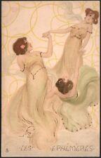 Raphaël Kirchner.  Les Ephémères. Dell'Aquila E.7-4. 1904