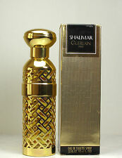 VINTAGE SHALIMAR GUERLAIN EDT SPRAY 3.1oz/93ml No 980 New In Box