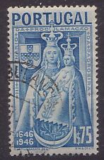 PORTUGAL. 1946 SG1001 1c75 BLUE.Madonna and Child. Used.
