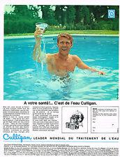 PUBLICITE  1969   CULLIGAN   traitement de l'eau