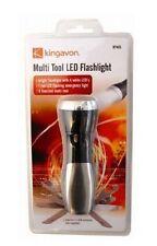 Multi Tool LED Flashlight Multiscrewdriver Scissors Utility Kits Camping RT405