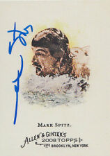 Mark Spitz Olympic Swimmer 7 Gold Medals SIGNED CARD AUTOGRAPHED