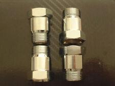 (4) Oxygen sensor extender spacer HHO HYDROGEN Test Pipe O2  M18 X 1.5 18mm