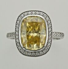 Brand new Carat* London Yellow & White Silver Ring