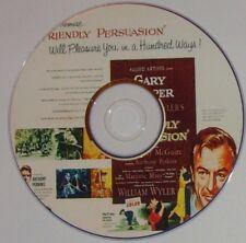 DRAMA 129: FRIENDLY PERSUASION 1956 William Wyler, Gary Cooper, McGuire, Perkins
