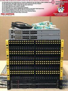 HP 3PAR 7400c 360 Gen10 16GB FC 37TB SSD & SAS 96 Core Platinum 1TB SAN Solution