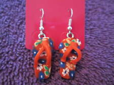Colorful Flip Flop Dangle Earrings
