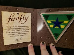 Firefly Independents Show Prop Replica Loot Crate Exclusive Collectible Patch