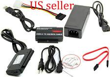 USB 3.0 2.0 to HD HDD SATA IDE Adapter Converter Cable Support 2TB HDD ATA/ATAPI
