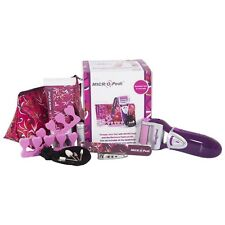 Emjoi Micro Pedi Conjunto de Regalo con Kit de manicura/pedicura anti bacterial Micro-Mine