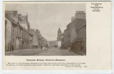 More details for victoria st, newton-stewart: portpatrick & wigtownshire railway postcard(c34026)