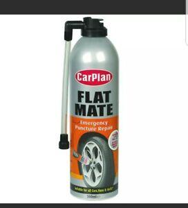 Carplan Flat Mate CFM500 Emergency Puncture Repair Tyre Weld 500ml Inflator