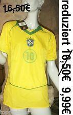 BRASILIEN TRIKOT  FUßBALL WM BRAZIL 10 KINDER 140 - 146 BRASIL FUßBALLTRIKOT NEU
