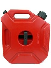 1.3 Gallon 5L Gas Diesel Spare Storage Plastic Red Jerry Can Tank ATV Motorcycle