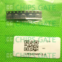 5PCS LM340MP-5.0 IC REG LDO 5V 1A SOT223 TI