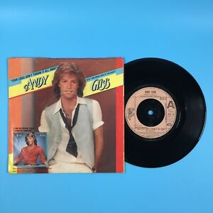 """Andy Gibb - (Our Love) Don't Throw It All Away (1978) 7"""" Vinyl Record RS-911"""