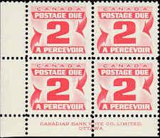Scott # J22 - 1967 - ' Postage Due '; 20 x 17mm (Lower Left)