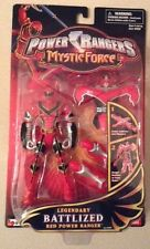 NIB Power Rangers Mystic Force Legendary Battlized Red Power Ranger