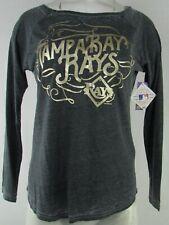 Tampa Bay Rays MLB Touch Women's Gray Long Sleeve T-Shirt