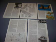 VINTAGE..CANADAIR CL-215..SPECS/3-VIEWS/CUTAWAY..RARE! (165C)