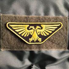 Warhammer 40K Imperial Guard Space Marine Flight/Pilot Wings Patch W/Velcro® Le