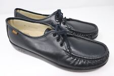 SAS Womens Shoes Siesta Black Sz 7 S Slim Narrow Comfort USA Made $129 Retail