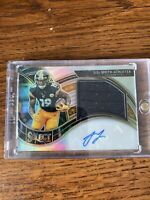 2020 Panini Select JuJu Smith-Schuster Auto Patch Silver eBay 1/1 19/49 Jersey #