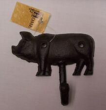 Cast Iron Pig Wall Hook (EAA)