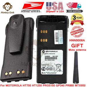 HNN9008A Battery for MOTOROLA HT750 HT1250 PRO5150 GP340 PR860 MTX950