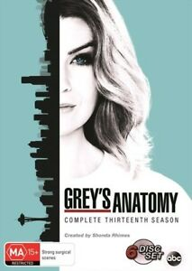 GREY's Anatomy : Season 13 : NEW DVD