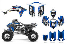 TRX 450R graphics Honda 450 ATV deco kit FREE Custom Service #4444 blue