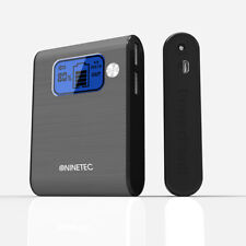 NINETEC 10.000mAh PowerBank Mobiler Ladegerät für Samsung Galaxy S2 grau NT-565