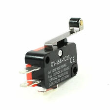 1x Mini Micro Limit Switch Long Hinge Roller Lever Arm SPDT Snap Action fu