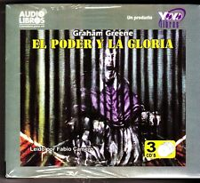 El Poder Y La Gloria-The Power And The Glory (Spanish Edition) 3 Audio CDs - NEW