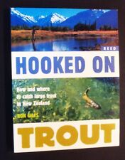 Ron Giles - Hooked On Trout - Where To Catch Trout In New Zealand - pb 2000